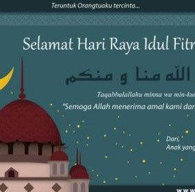 ucapan selamat idul fitri