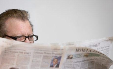 berita duka di koran