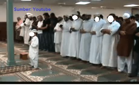 anak kecil menjadi imam shalat