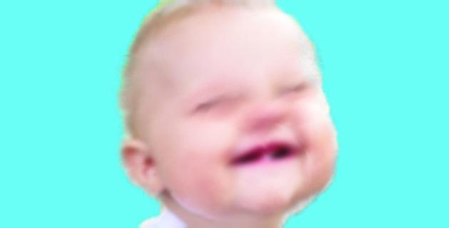 bayi belum tumbuh gigi