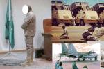 tentara saudi shalat pakai sepatu