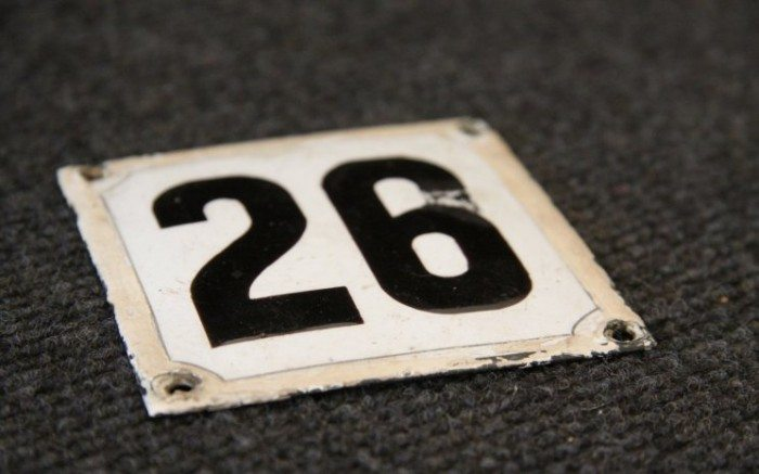 misteri angka 26